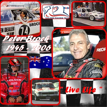 Peter Brock Pictorial Tribute