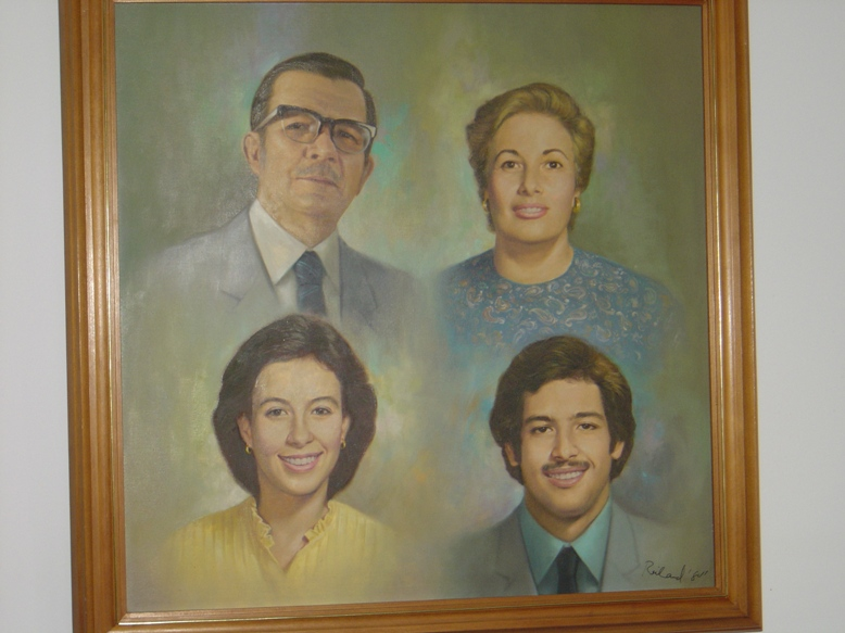 Dr Ramon Frauendorff Family