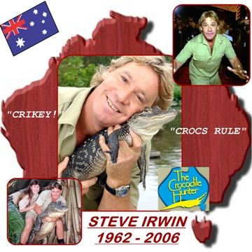 Pictorial Tribute to Steve Irwin