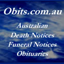 Australian Funeral Notices, Deaths Notices, and Obituaries